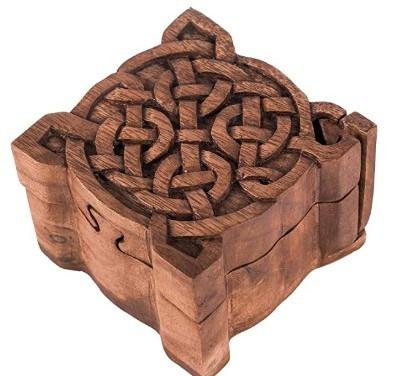cajas y joyeros celtas